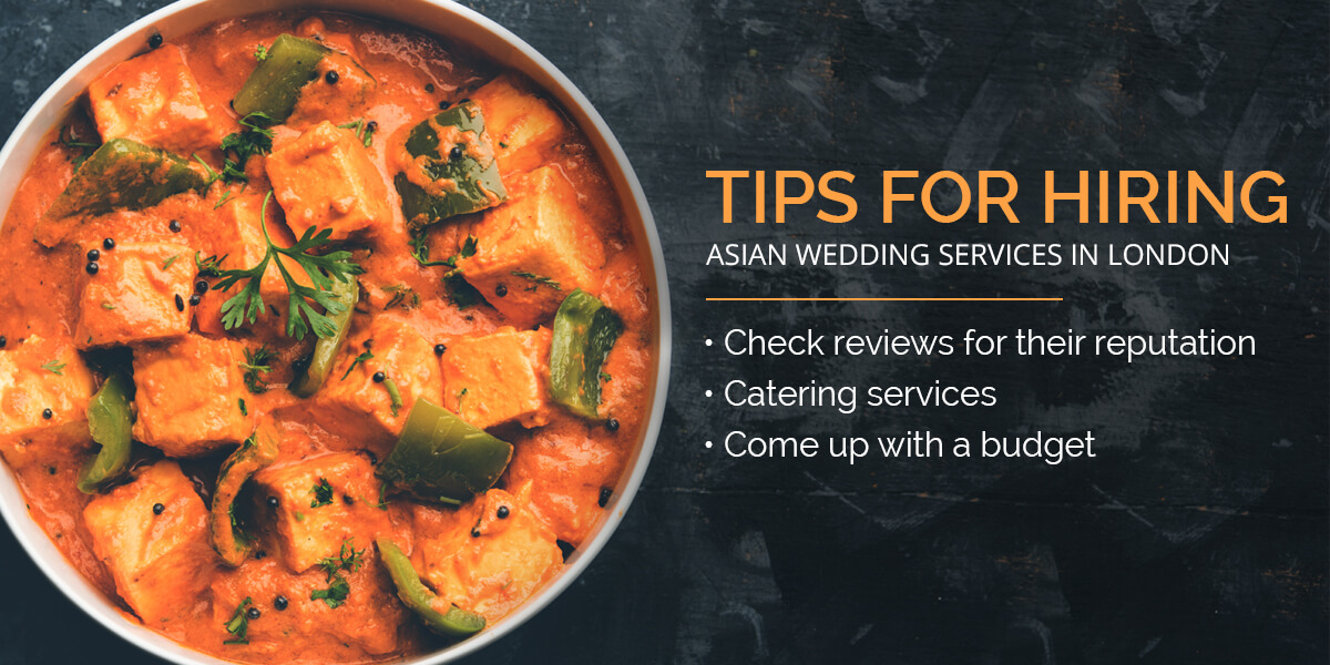 Asian wedding services London